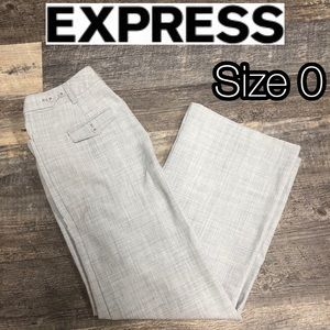 Express gray work pants